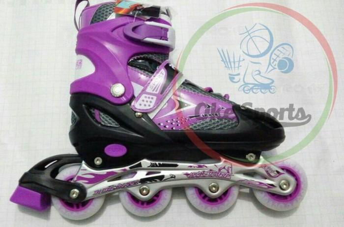 Jual Sepatu Roda Inline Skate Powerline 6032 (Ungu) - Oke Sports ... 574b45fa58
