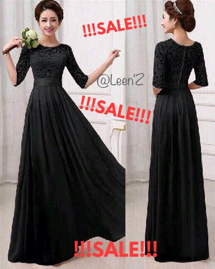 00eb821473 Jual !!!ON SALE!!! Black Maxi Longdress (stock terbatas) - DKI ...