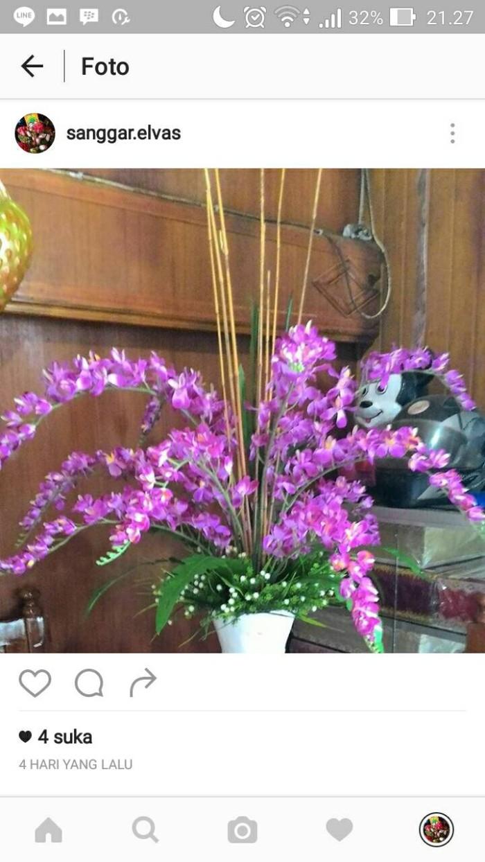 Jual bunga sudut anggrek salju - Kab. Pelalawan - sb. ELVA
