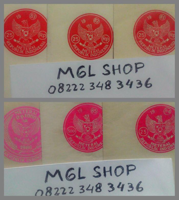 harga Kertas segel kuno jadul lama tahun 1981 1983 1984 1985 1986 1987 1988 Tokopedia.com