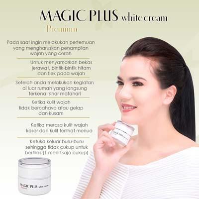 Image result for Magic Plus White Cream Premium 35g Free 3g x 5 sachet