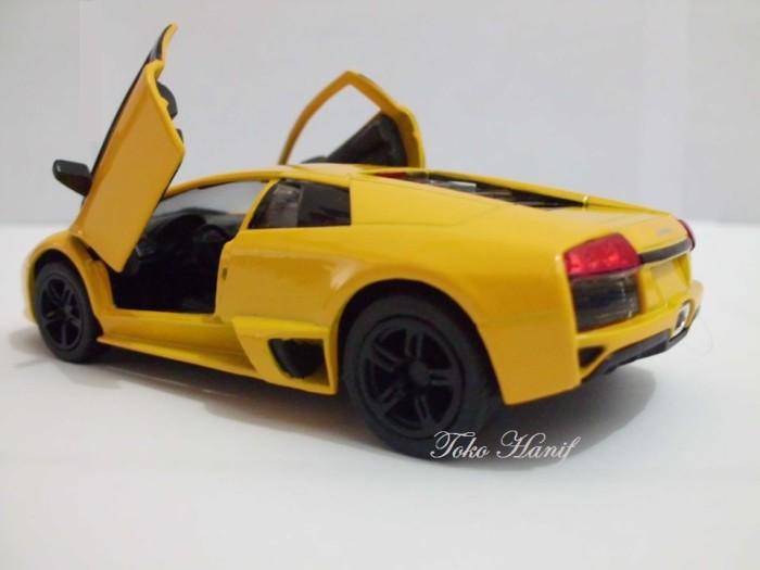 harga Diecast Miniatur Replika Lamborghini Murcielago Yellow Tokopedia.com