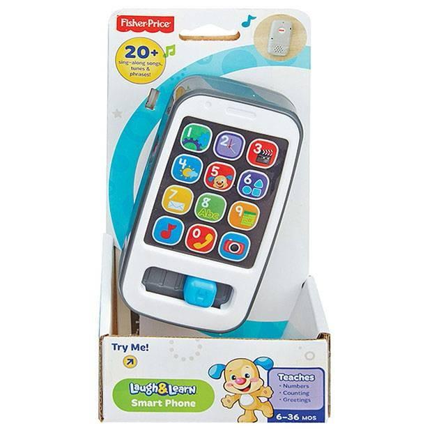Jual Hp Mainan Bayi Fisher Price Laugh And Learn Smart Phone Kota