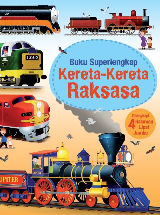 Buku superlengkap: kereta-kereta raksasa