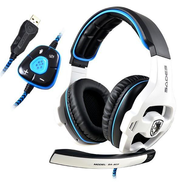 ... SADES SA 903 7 1 Sound Effect USB Gaming Headset