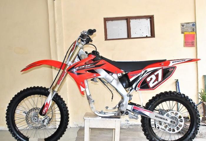 Jual Rangka Trail Honda Crf 150r Reza Cahaya Rangka Trail Tokopedia