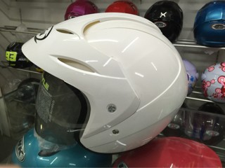 Helm Hiu Nico Putih / White Murah