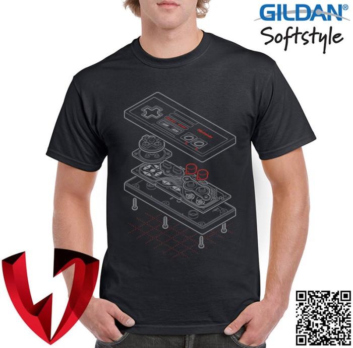 harga Kaos pria gamers - nintendo joystick game part - original gildan Tokopedia.com