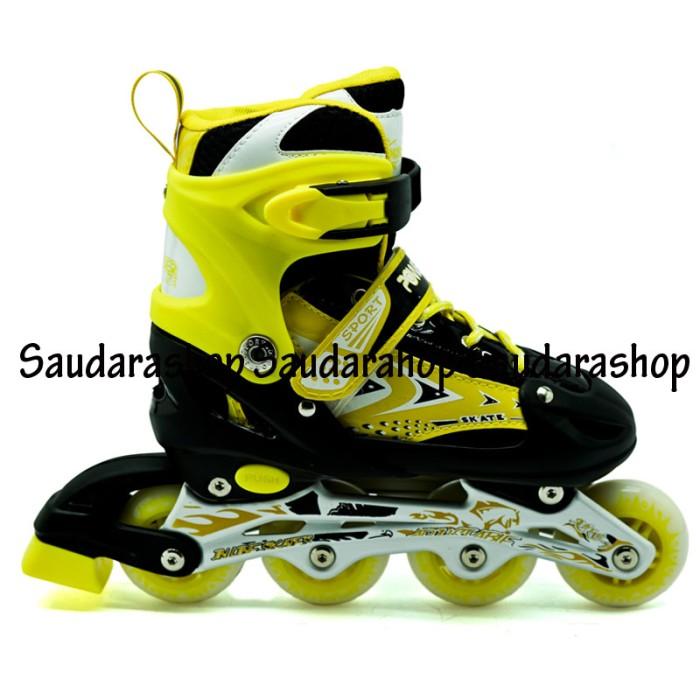 Jual Sepatu Roda   Sepatu Roda Murah   Sepatu Roda Power Line Kuning ... 65db6f1249