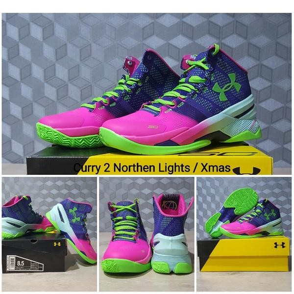 1ed59ef204b ... coupon code sepatu basket under armour curry 2 northern lights harga  a88c3 f49ad