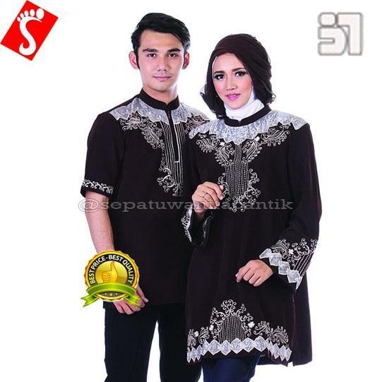 Baju Muslim Couple Terbaru Modern Lebaran Mmt472 Berkualitas
