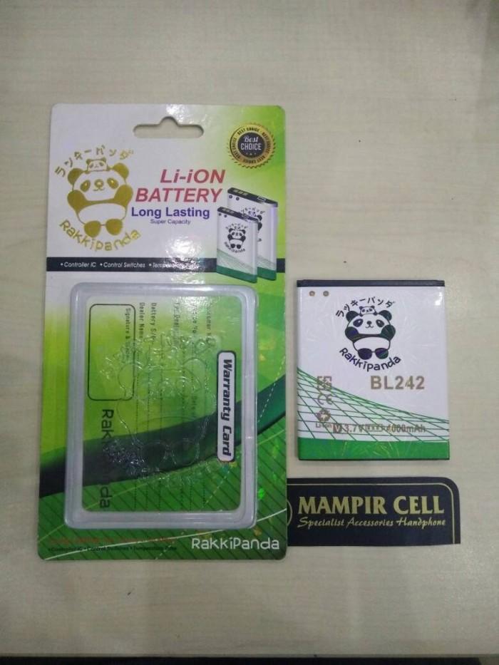 harga Baterai / battery lenovo a6000 bl242 rakkipanda double power 4000mah Tokopedia.com