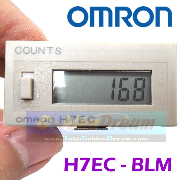 Omron Digital Counter H7ec-blm Counts H7ec Totalizer Alat Hitung Cacah