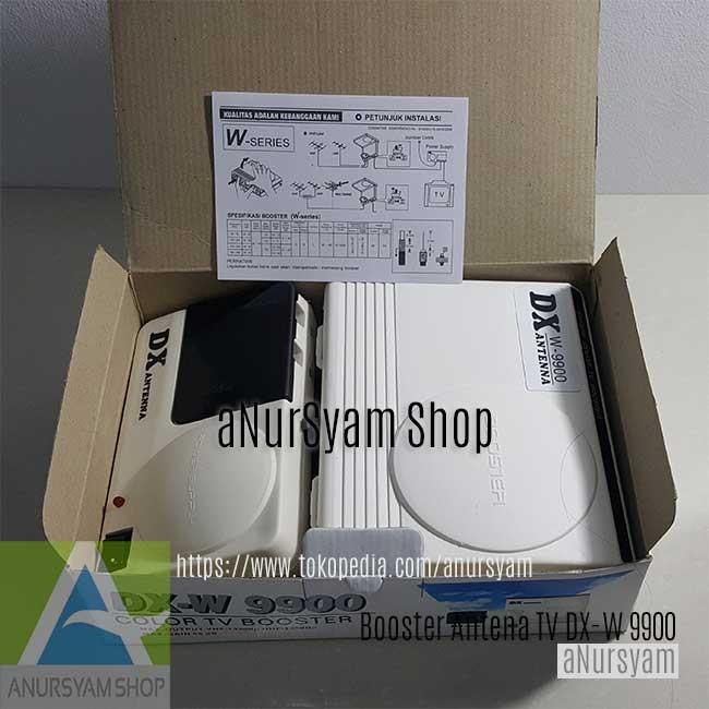 Booster Dx W 9900 jual booster antena dx w 9900 tv digital analog
