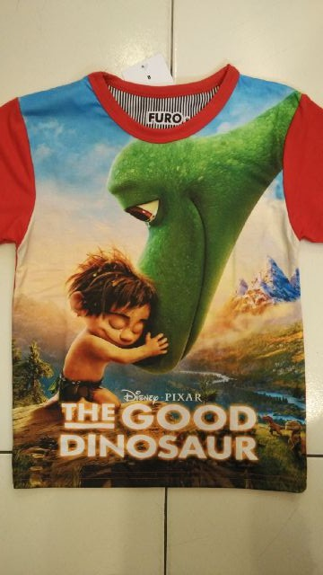 harga 542 good dino 2085 dinosaurus kaos anak laki printing murah thai impor Tokopedia.com