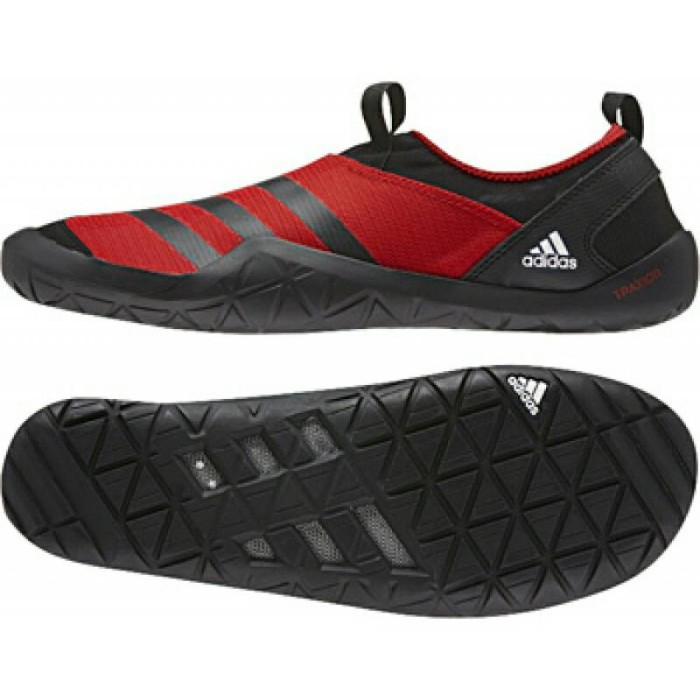 2446e96fb Jual adidas outdoor CC JAWPAW SL (RED-BLACK) AF6087 sepatu original ...