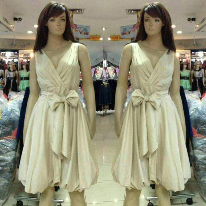 harga Dress import  gaun pesta pendek  baju pesa korea  dress pesta premium  Tokopedia 38e9edc20f