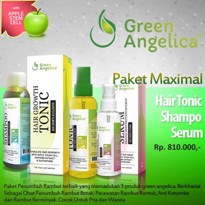 Obat Herbal kebotakan dan Kerontokan Rambut Green Angelica
