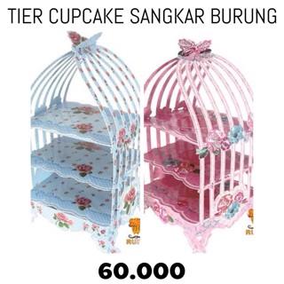 harga Tier cupcake sangkar burung Tokopedia.com