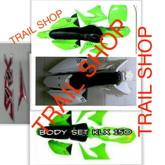 harga Body full set trail klx 150cc Tokopedia.com