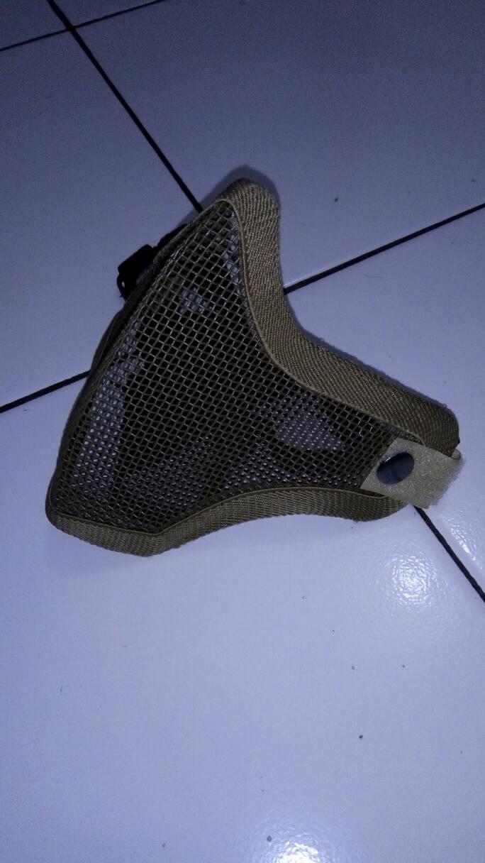 Beli Kuas Masker Untuk Aplikasikan Pada Wajah Jaring Kawat Airsoftgun