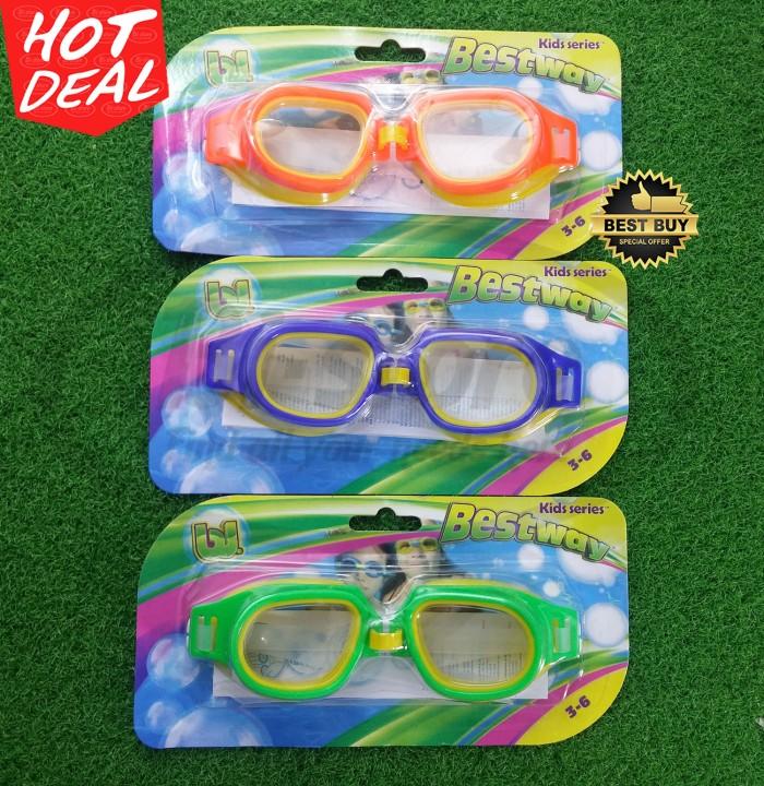 harga Kacamata renang anak sport pro champion goggles bestway original 3-6yr Tokopedia.com
