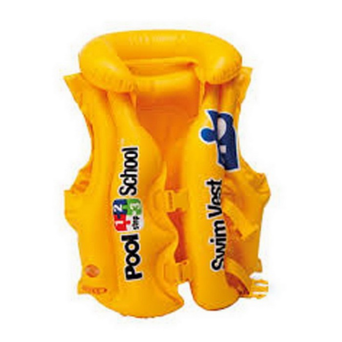 Rompi Pelampung Renang Swim School Deluxe - INTEX #58660EU