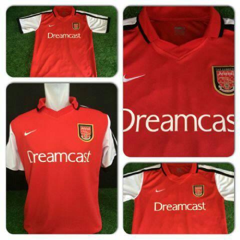 e38c6935f Jual Jersey Arsenal Retro 2001 Home   Dreamcast - Kota Yogyakarta ...
