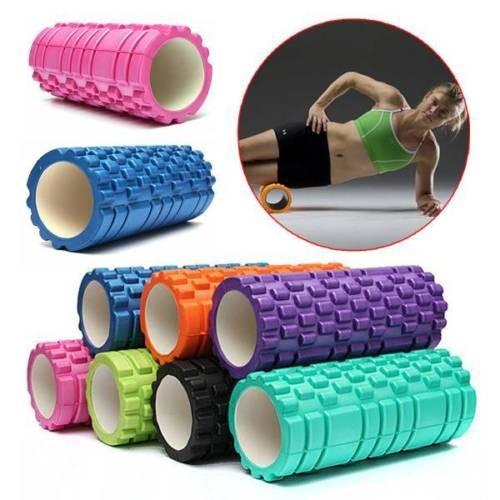 harga Yoga roller foam 45 cm extra panjang / yoga foam wedge / yoga massage Tokopedia.com