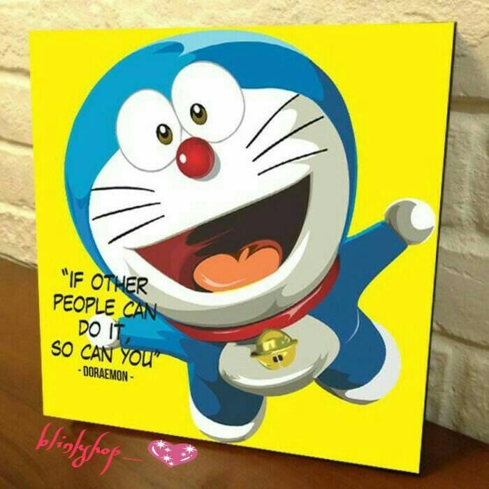 Jual Lukisan Print Doraemon Fun Jakarta Selatan Blinklovershop