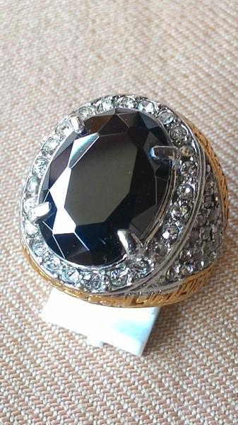 harga Cincin titanium batu black onyx hq Tokopedia.com