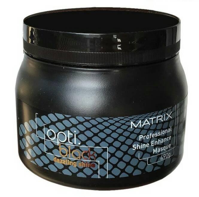 matrix opti black dazzling shine enhance masque masker rambut
