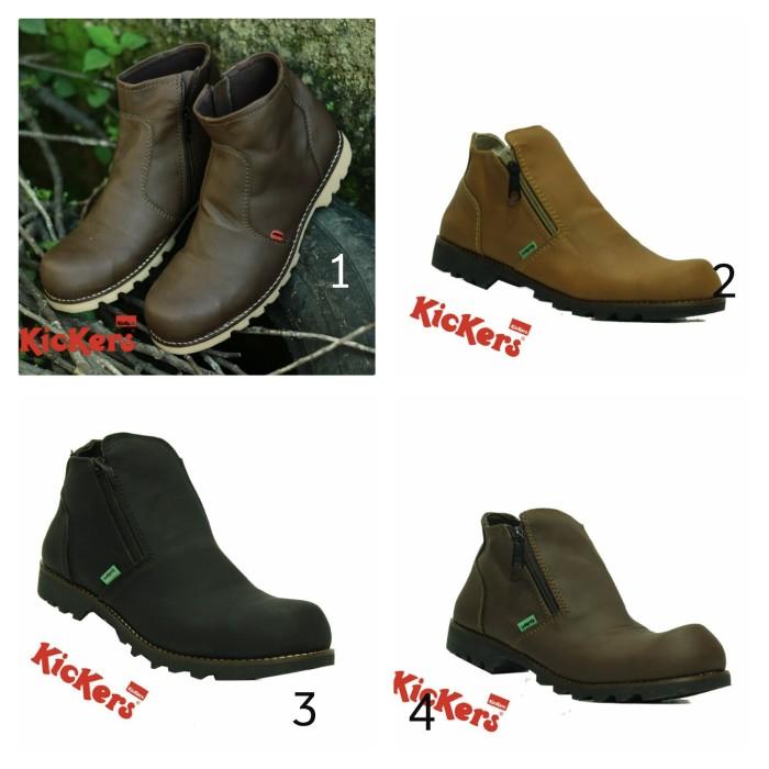 ... harga Sepatu kickers tracking touring   boot kerja kantor sepatu pria  safety Tokopedia.com 67e08726ae
