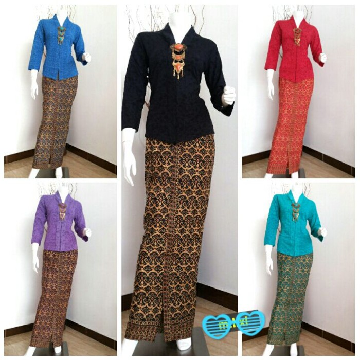harga Rok dan blus iswara free bross ,baju murah,batik kerja, setelan etnic Tokopedia.com