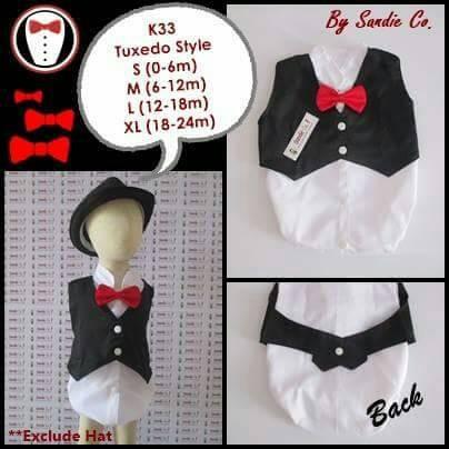 ... harga Baju bayi jumper karakter tuxedo lucu nyaman Tokopedia.com