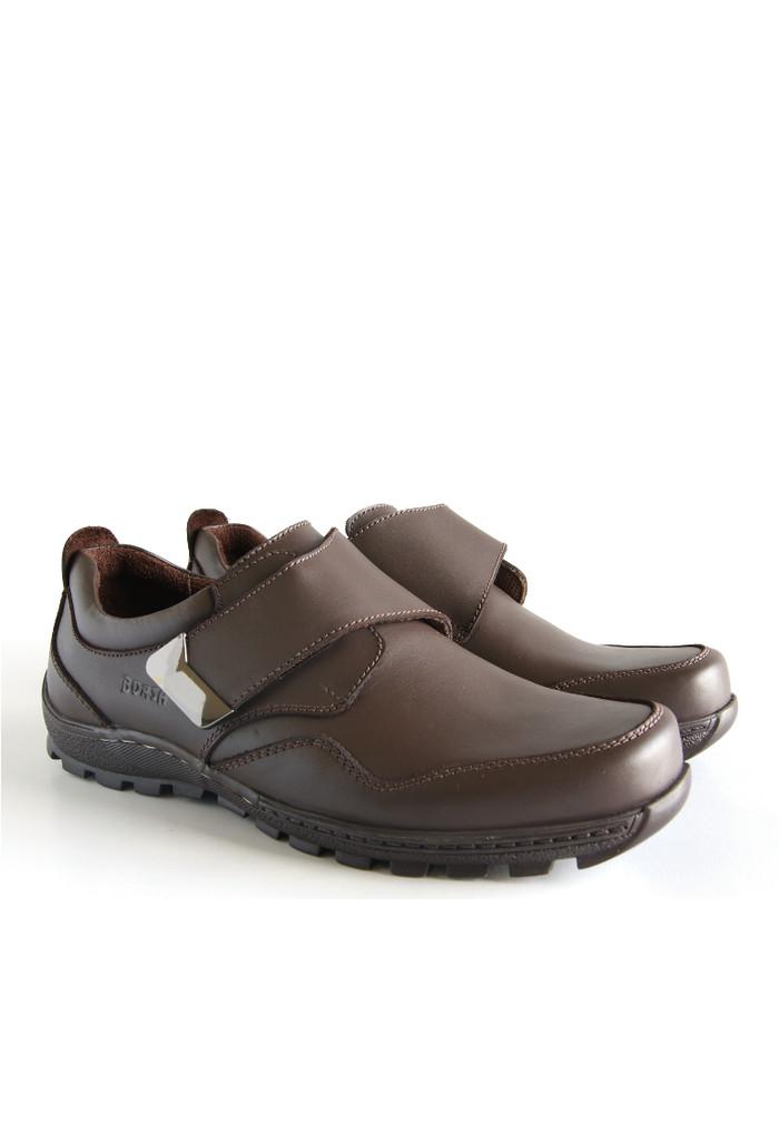 harga Sepatu kulit asli / borsa - adroit Tokopedia.com