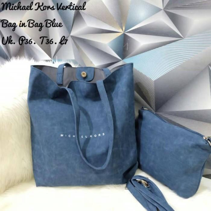018d17d97632aa ... large tote leather handbag b5a77 f82e7; coupon tas michael kors tote  vertikal bag in bag suede tebal 66d1b 7bf2a