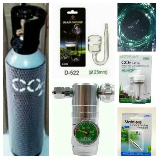 harga Aquascape - paket tabung co2 5kg isra precise + glass diffuser Tokopedia.com