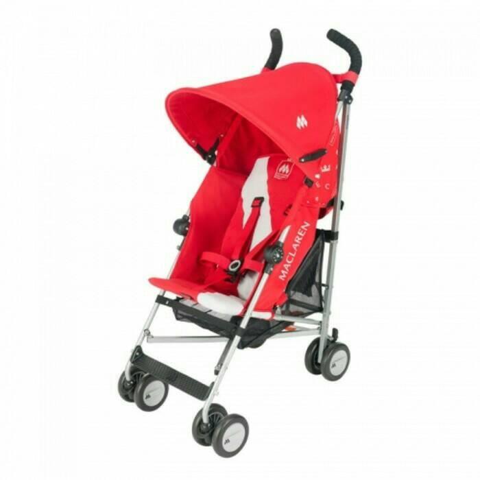 Jual Stroller Maclaren Triumph Scarlet - Ethan Babyshop ...