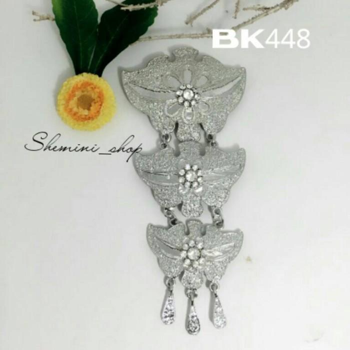 harga Bros kebaya kutu baru kode : bk448 ( silver ) Tokopedia.com