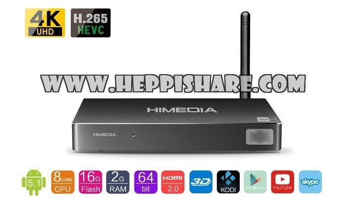Foto Produk Smart | HD | Bluray Media Player HIMedia | HI MEDIA H8 | Android TV dari Heppi.Share