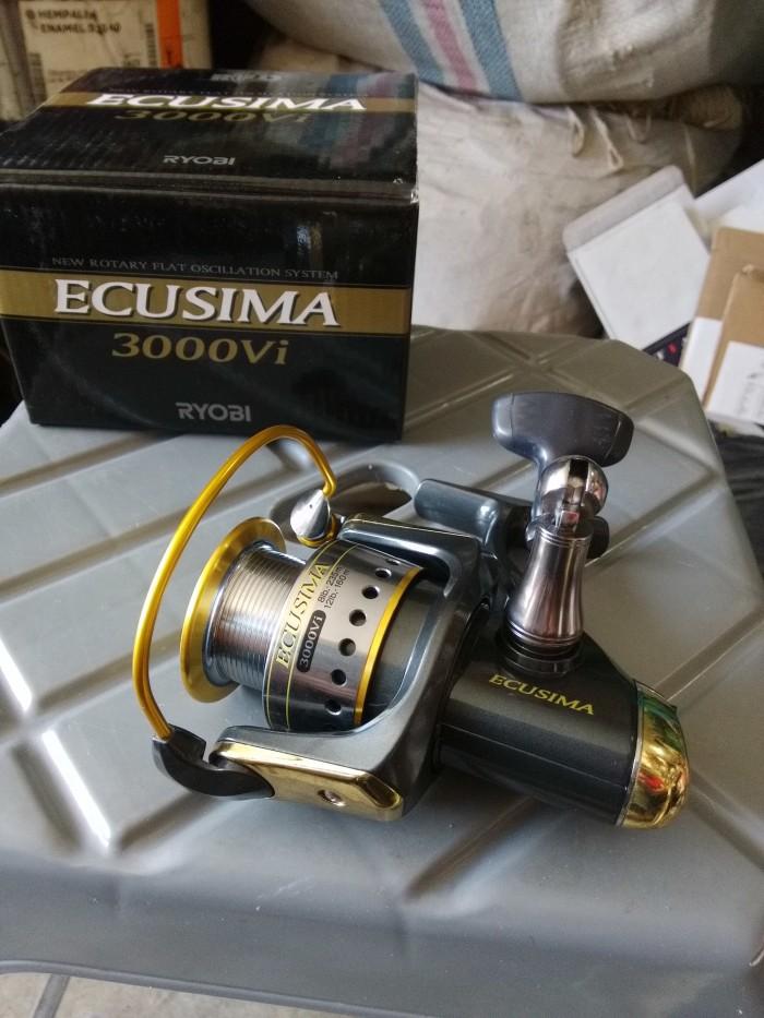 Hasil gambar untuk reel ryobi ecusima 3000 vi