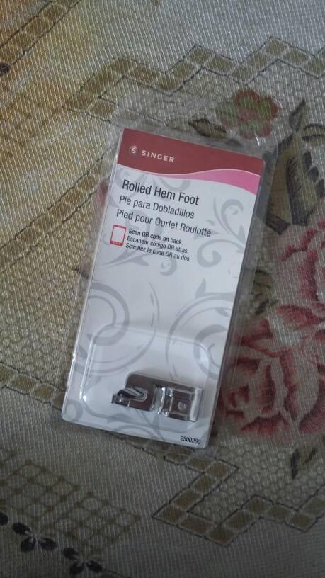 Sepatu Lipat / Sepatu Semi Neci / Rolled Hem Foot portable singer