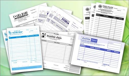 Jual Cetak Kwitansi Faktur Invoice Percetakan Murah Kab Karawang Raja Percetakan Murah Tokopedia