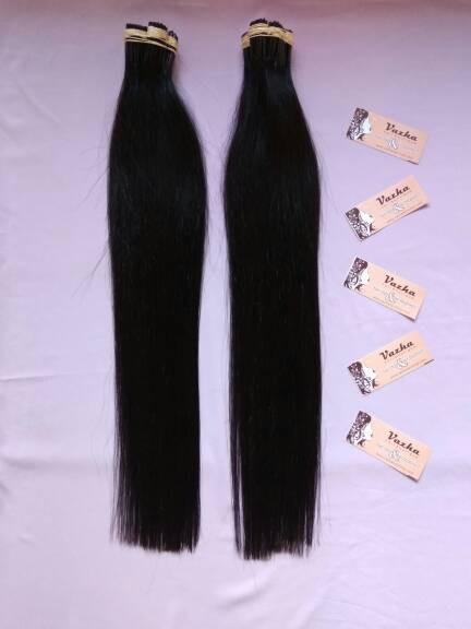 Jual Hair Extension Rambut Sambung 40cm 45cm 100 Helai Smoothing Kota Malang Vazha Hair Boutique Tokopedia