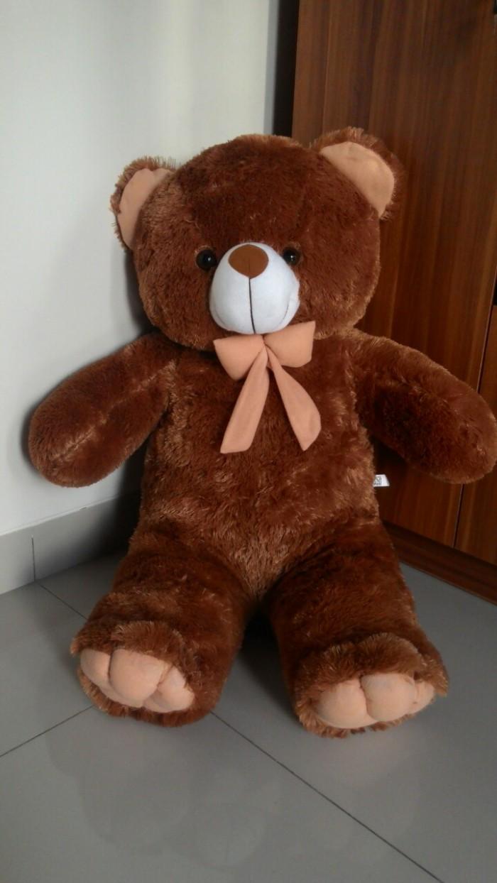 Jual Boneka Teddy Bear Coklat Jumbo 1 Meter. Premium High Quality ... 30fd4bafbd
