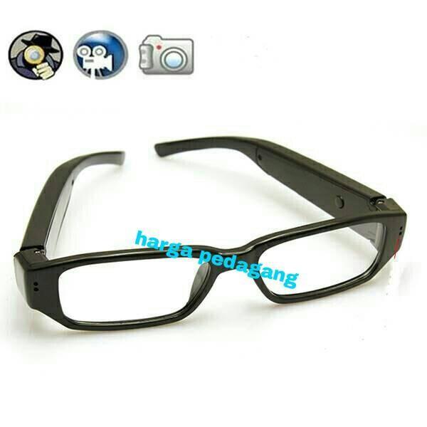 Jual Spy Camera Kacamata Bening HD 720p - Harga Pedagang  f22f3ad986