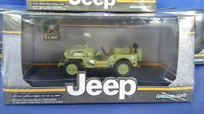 harga Diecast military jeep willys 1944 army green 1/43 greenlight Tokopedia.com