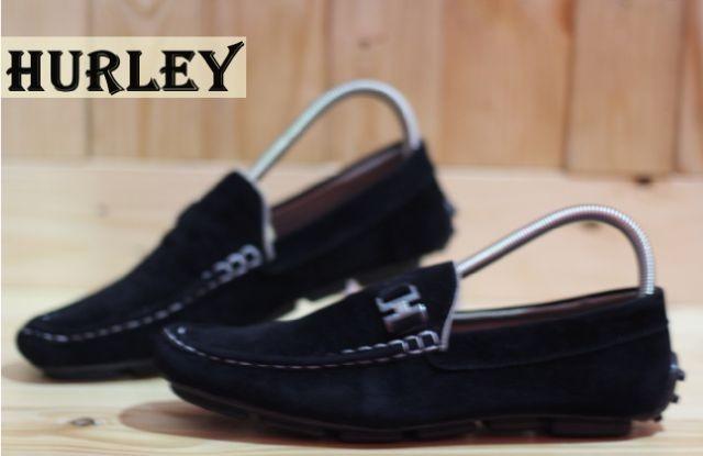 Sepatu hurley mocassin black casual santai pria santai hangout 1b8bb65dd5
