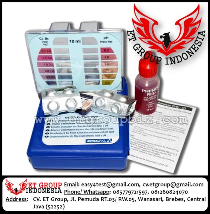 Foto Produk Test Kit Chlorine dan pH merk ASTRAL Akurat dari easytest